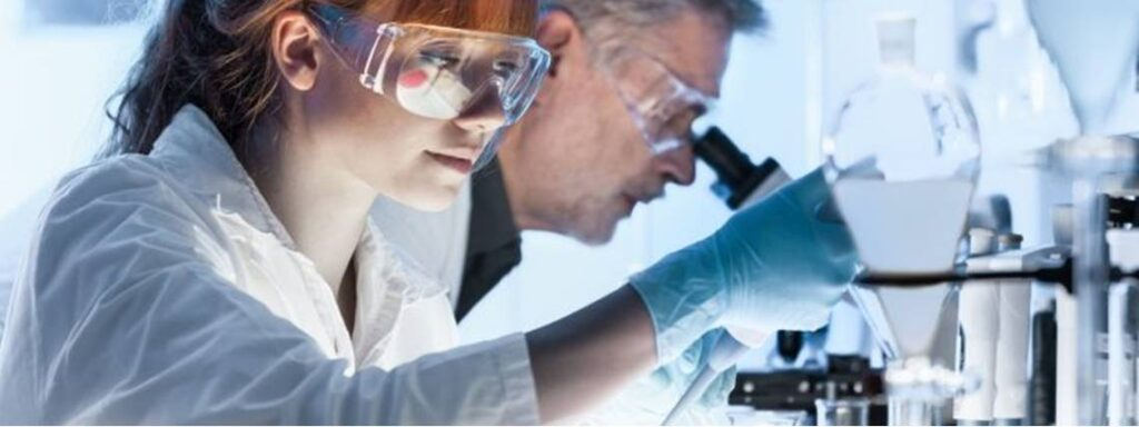 Scientists studying UV-C Sterilization and Covid-19